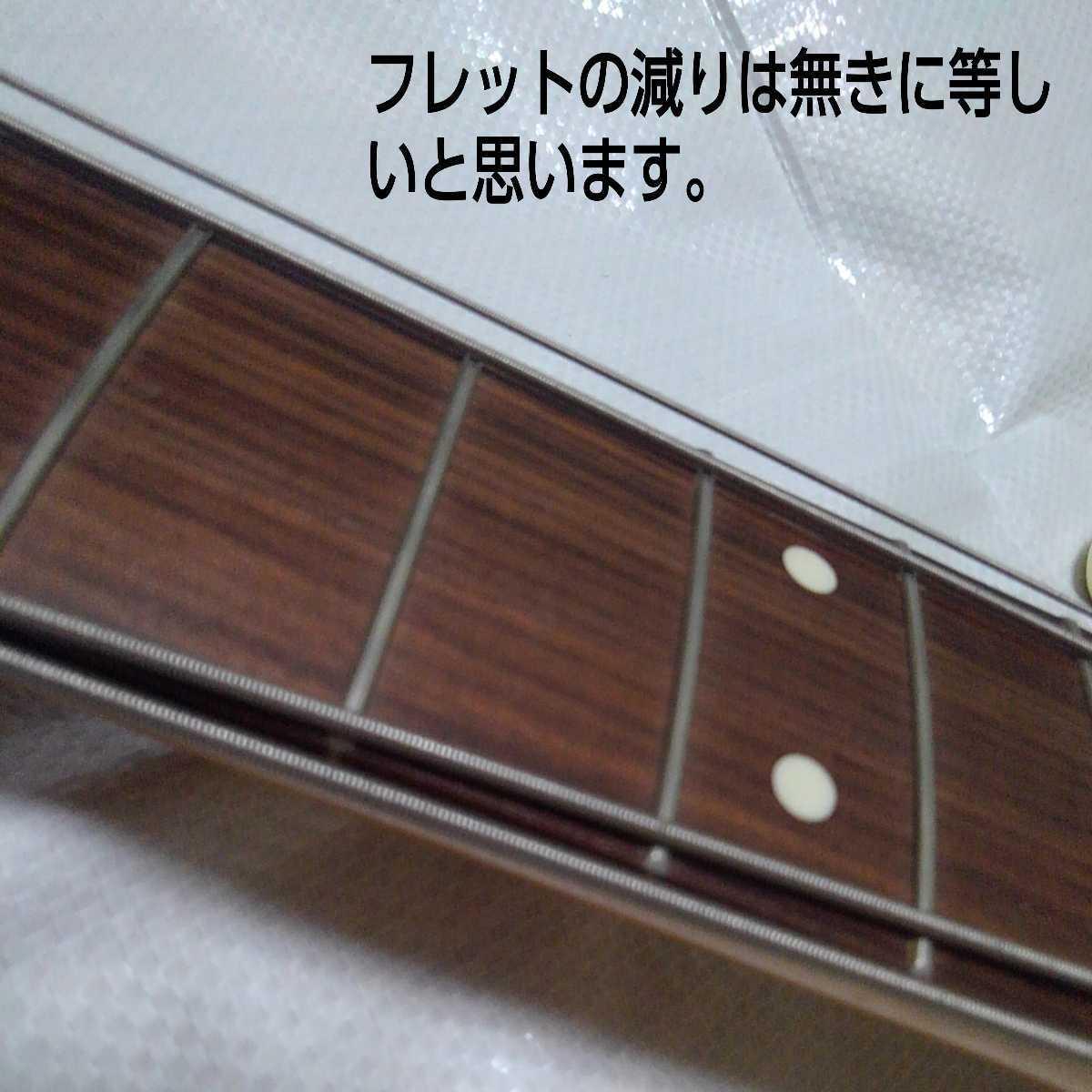 フェンダー ジャズベース MADE IN JAPAN FENDER Jazzbass 日本製 フジゲン シリアル M+6桁 _画像8