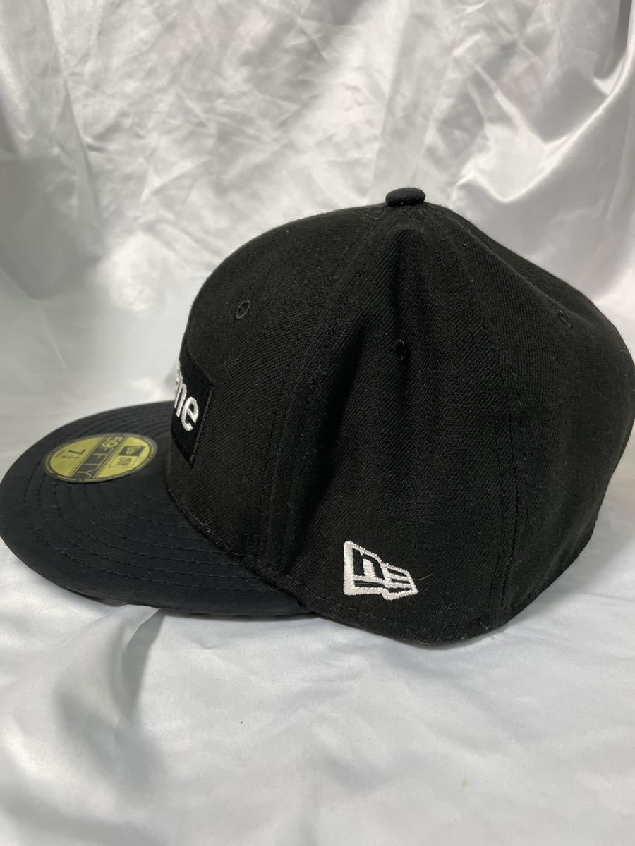 7 1/2 Supreme 14AW Gore-Tex New Era シュプリーム ゴアテックス ニューエラ ブラック BLACK cap キャップ_画像4