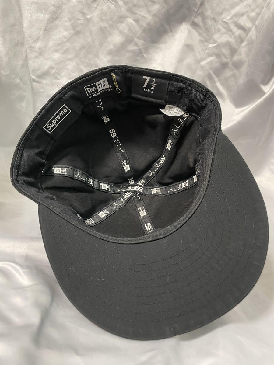 7 1/2 Supreme 14AW Gore-Tex New Era シュプリーム ゴアテックス ニューエラ ブラック BLACK cap キャップ_画像5