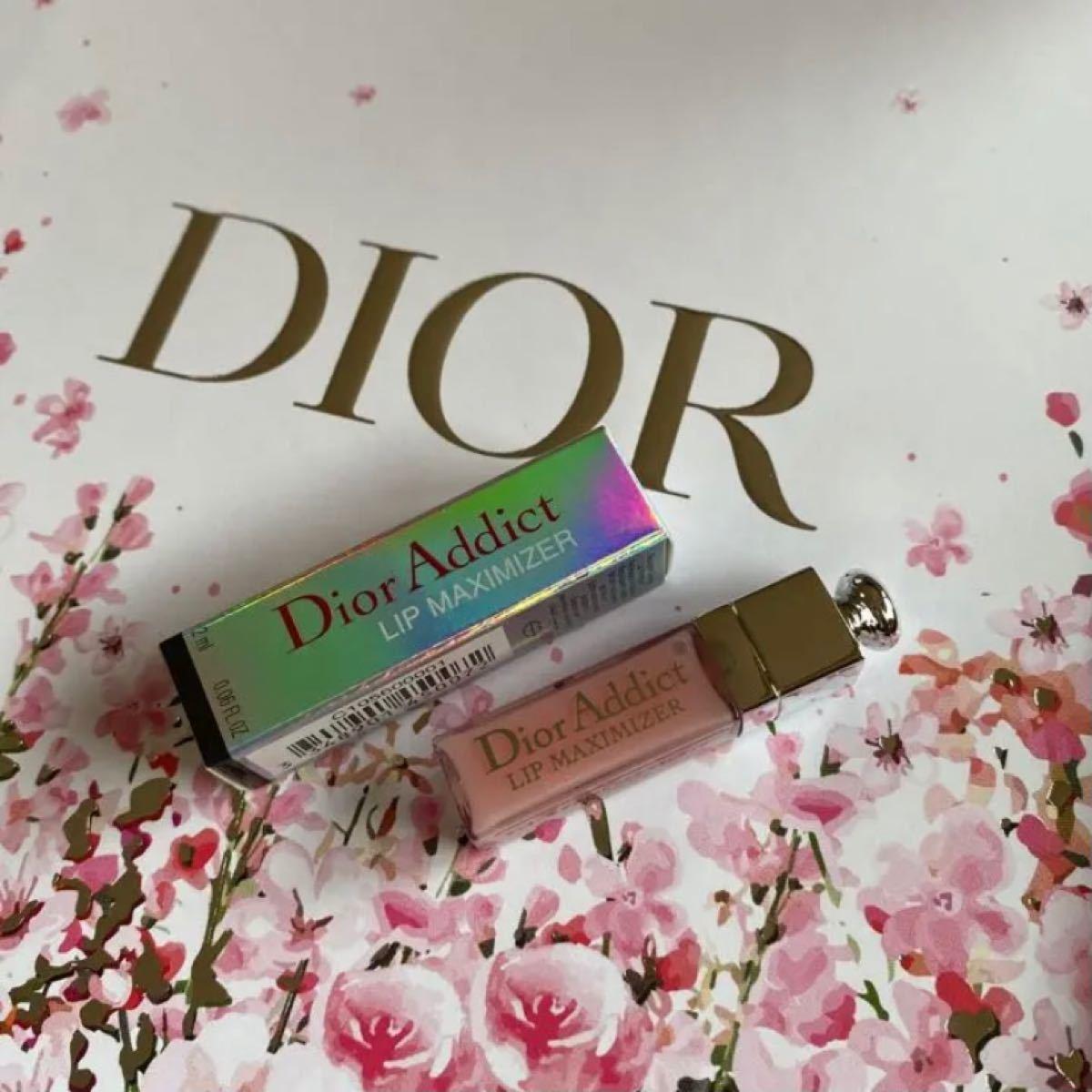 Dior ミニリップマキシマイザー 001 ピンク