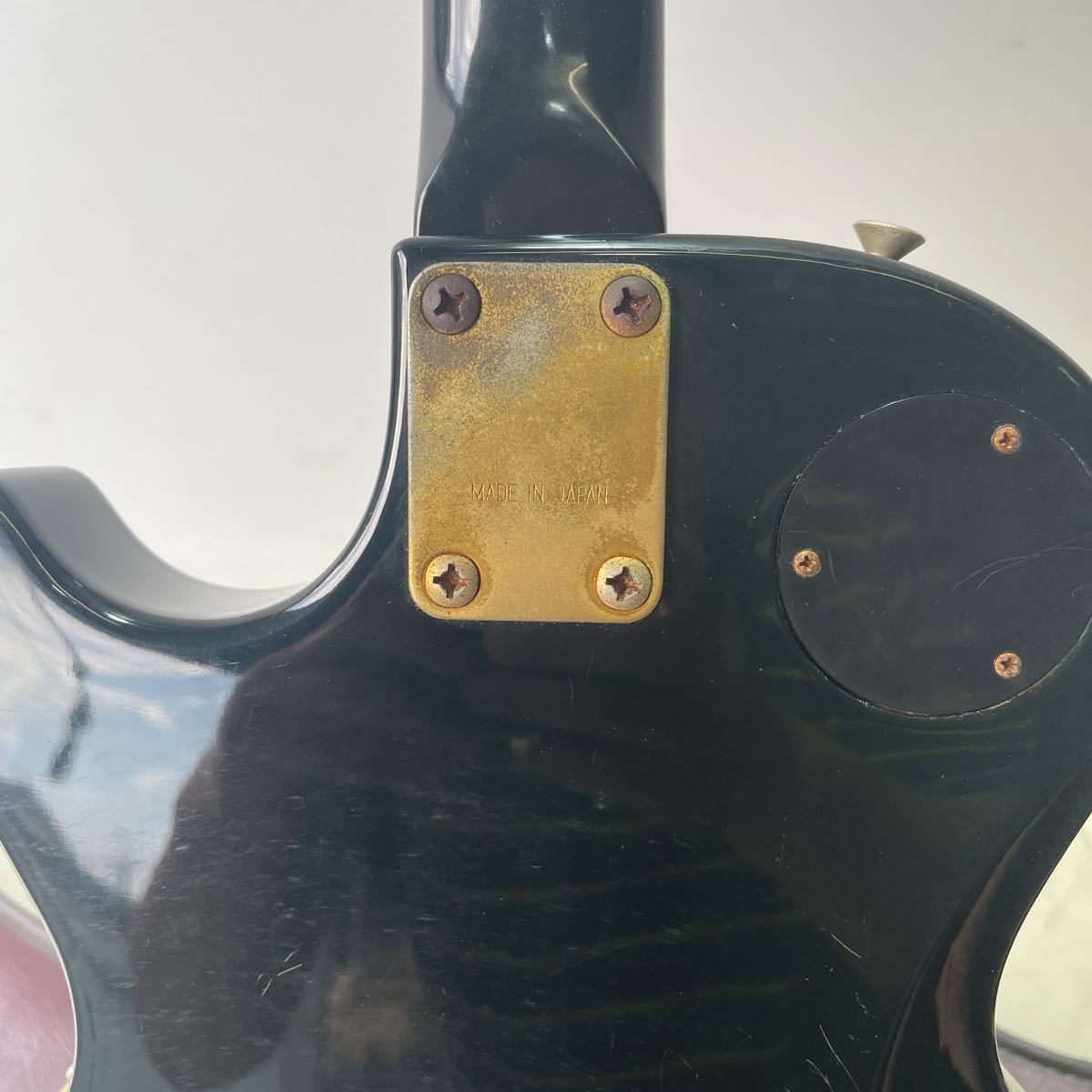 THE GRECO グレコ エレキギター ソフトケース 【ジャンク】_画像9