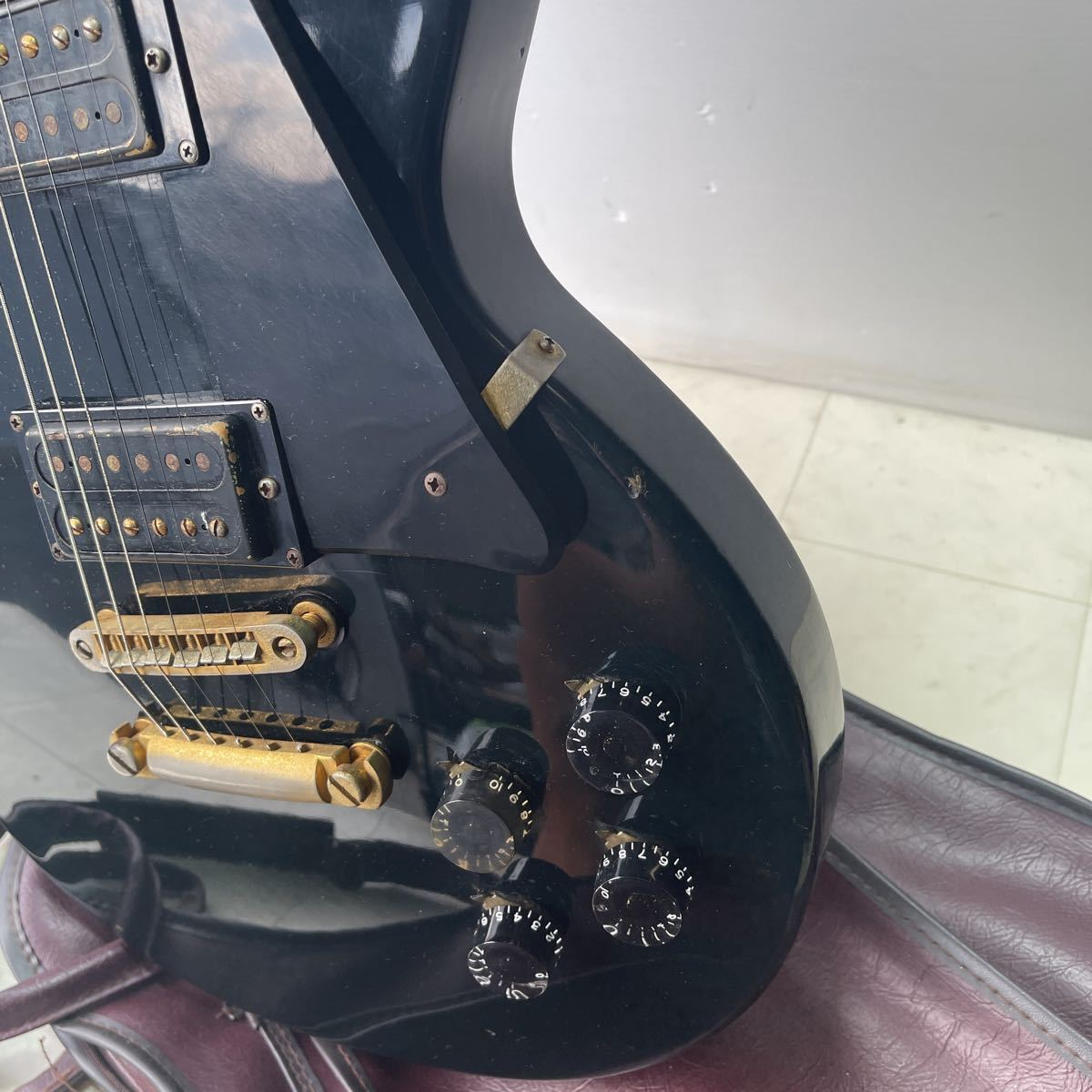 THE GRECO グレコ エレキギター ソフトケース 【ジャンク】_画像6