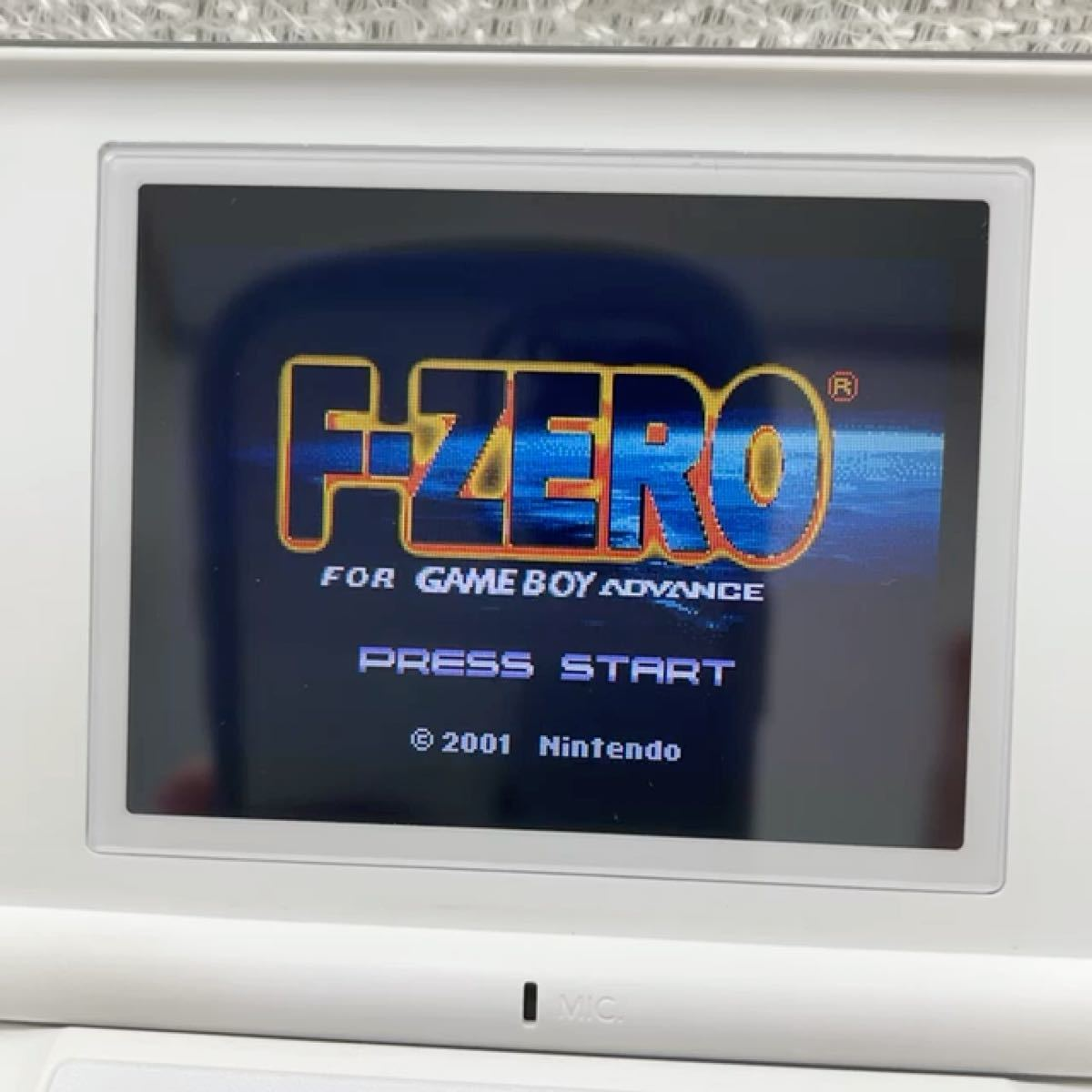GBA F-zero ソフト ゲームボーイアドバンス