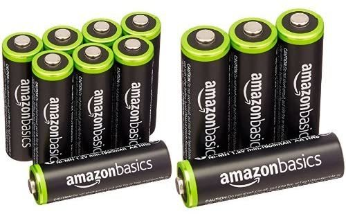 Amazonベーシック 充電池 充電式ニッケル水素電池 単3形8個セット (最小容量1900mAh、約1000回使用可能) &a_画像1