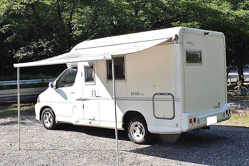 「H16 グランドハイエース ファーストカスタム製CG565 Faairy キャンピングカー FFヒーター/2段ベッド/トイレ/冷蔵庫他」の画像2