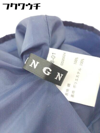◇ ●未使用● ◎ INGNI イング タグ付き ノースリーブ ロング ワンピース サイズM ブルー ホワイト ベージュ レディース_画像5