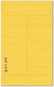 ふくろう 10枚入 【Amazon.co.jp 限定】和紙かわ澄 金のぽち袋 こころばかり ふくろう 10枚入_画像3