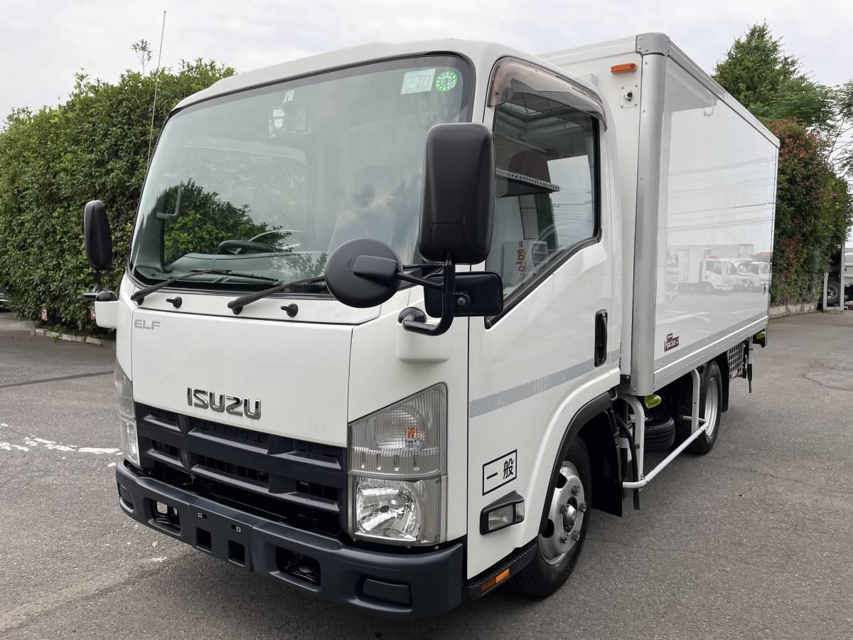 「H26 いすゞエルフ 2トントラック 冷蔵冷凍車 -30℃設定あり 上物メーカー:日本フルハーフ 最大積載2000㎏」の画像1