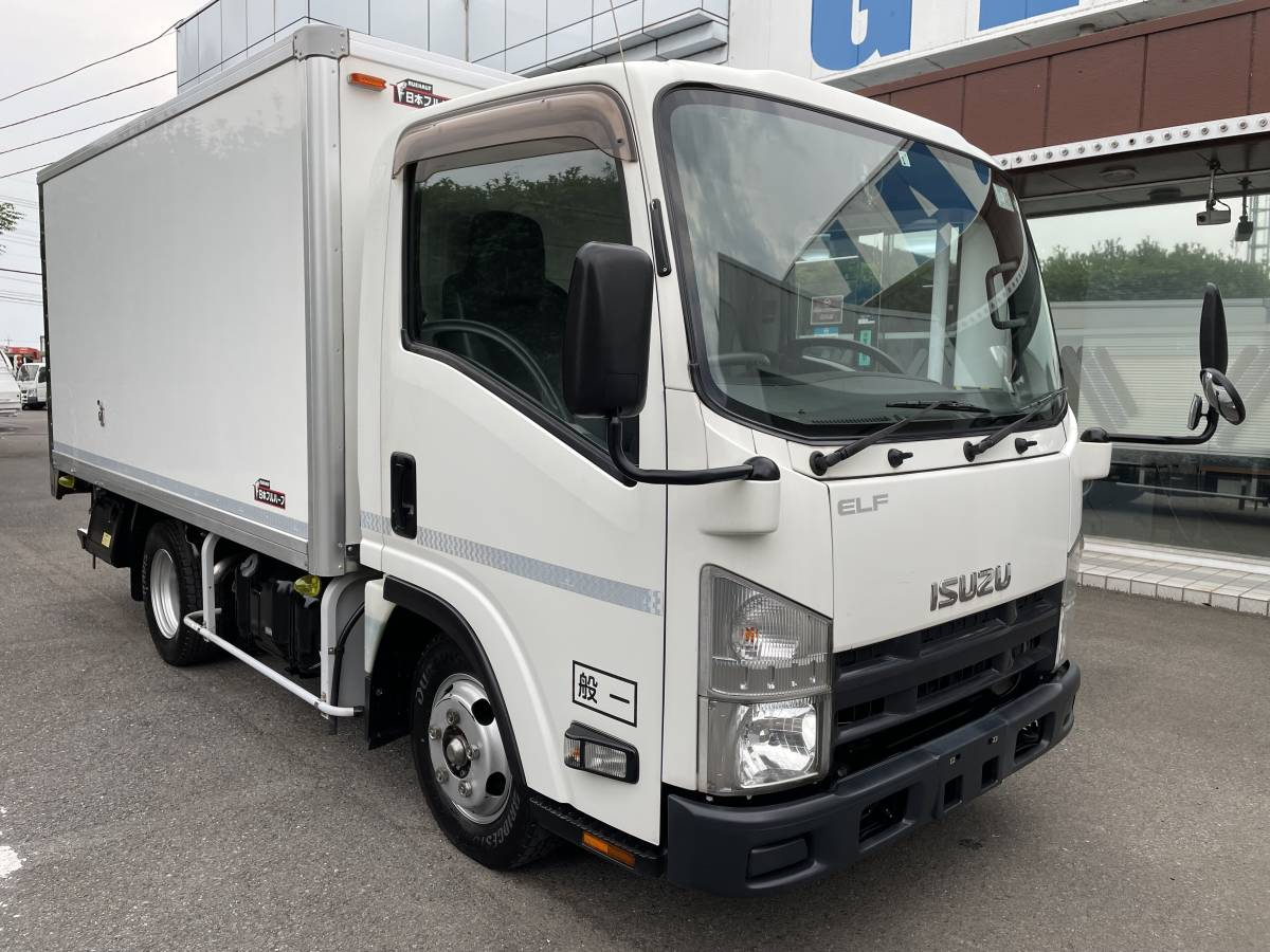 「H26 いすゞエルフ 2トントラック 冷蔵冷凍車 -30℃設定あり 上物メーカー:日本フルハーフ 最大積載2000㎏」の画像2