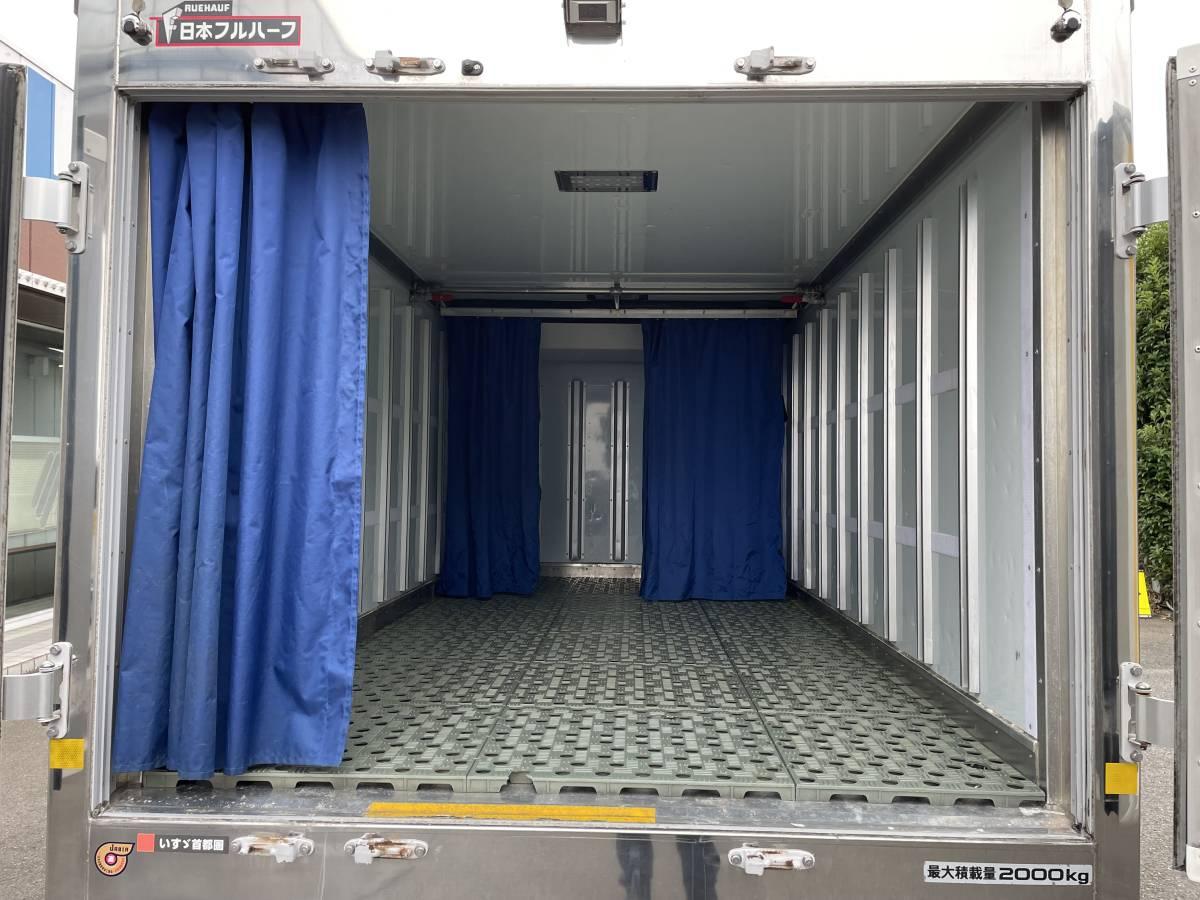 H26 いすゞエルフ 2トントラック 冷蔵冷凍車 -30℃設定あり 上物メーカー:日本フルハーフ 最大積載2000㎏_画像6