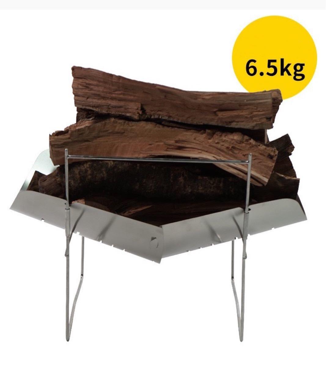 人気焚き火台 折り畳み式 ステンレス製 A4サイズ 超軽量380g!品質保証!