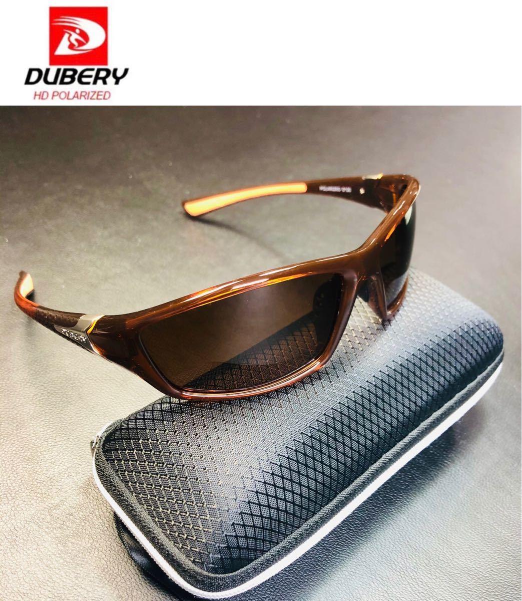 DUBERY サングラス 偏光グラス UV400 軽量 車  釣り アウトドア スポーツサングラス 偏光サングラス 超軽量