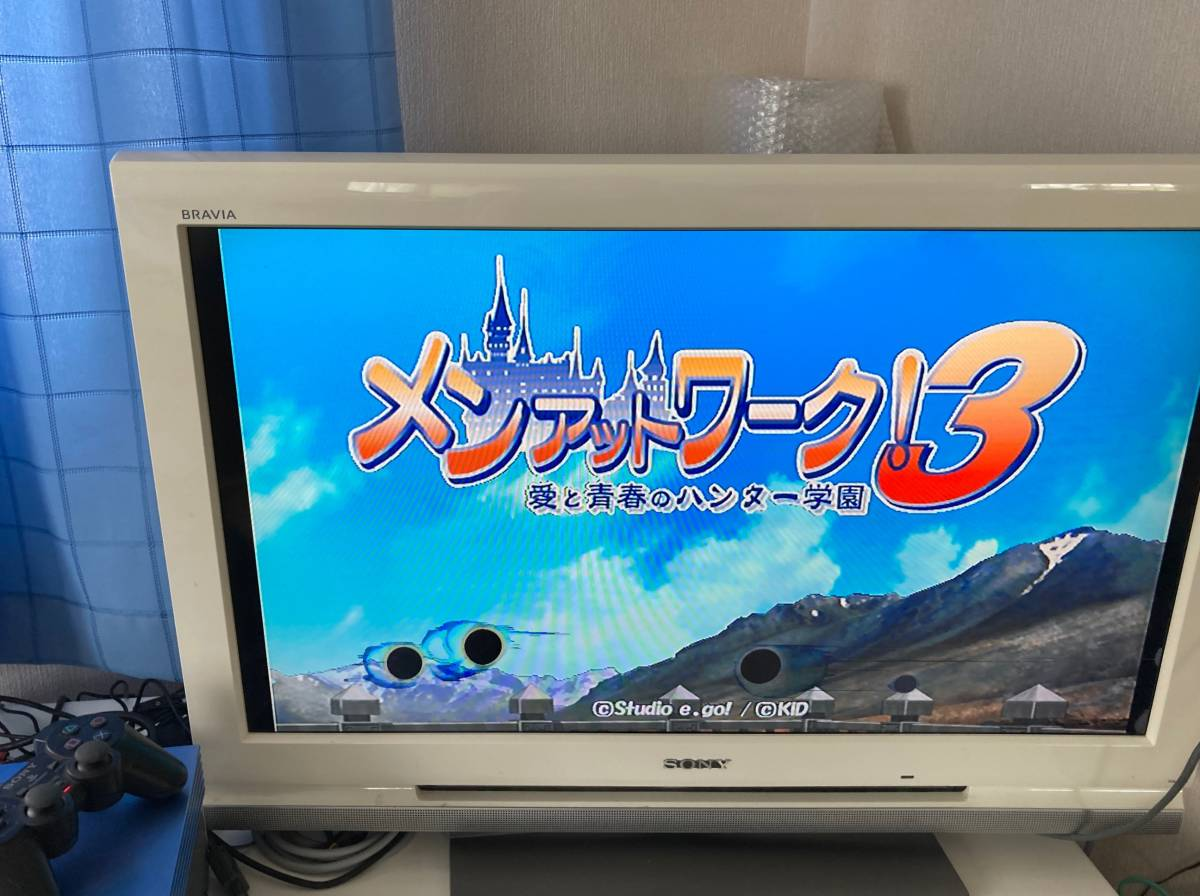 21-PS2-136 プレイステーション2 メンアットワーク3 初回限定版 動作品 PS2 プレステ2