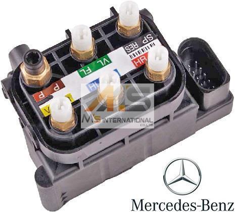 【M's】ベンツ AMG W222 W221 W217 Sクラス・W216 CLクラス 純正品 エアサスコントロール バルブブロック//正規品 エアサス 212-320-0358_画像1