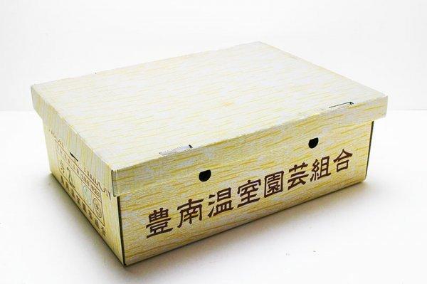 【限定1箱】愛知県産 温室マスクメロン 5玉入 (1玉1.7~1.8kg前後) 合計約8.8kg 家庭用 1円スタート!!_画像3