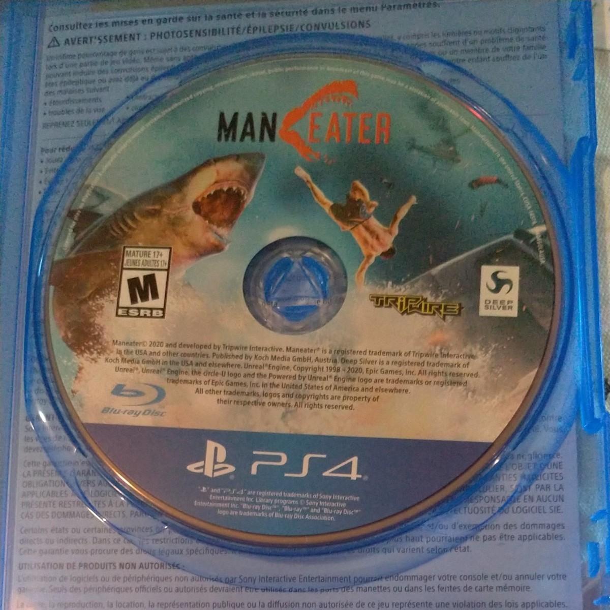 PS4 北米版 マンイーター maneater