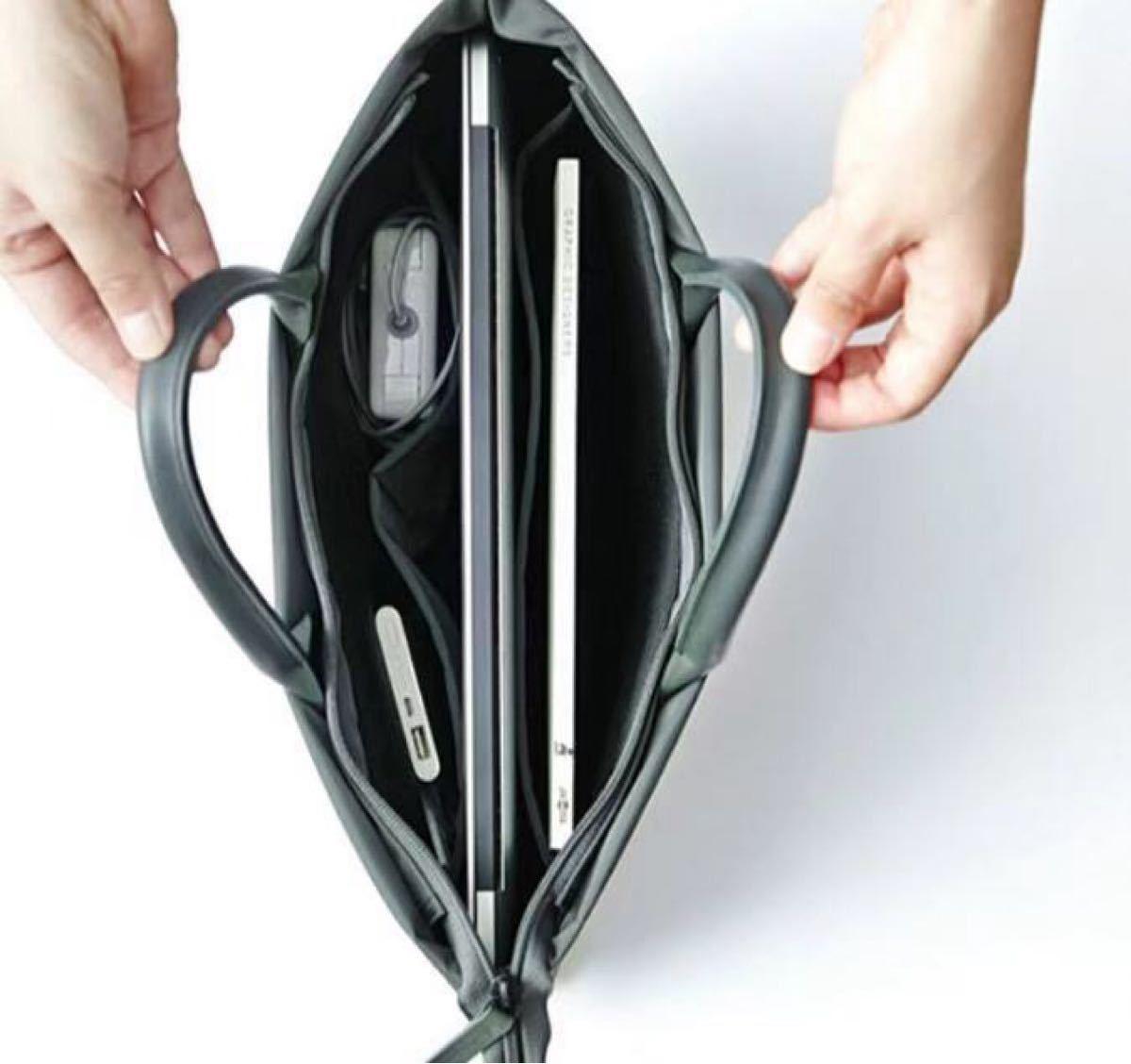 トートバッグ ブラック レザートートバッグithinkso ビジネス ブリーフケース