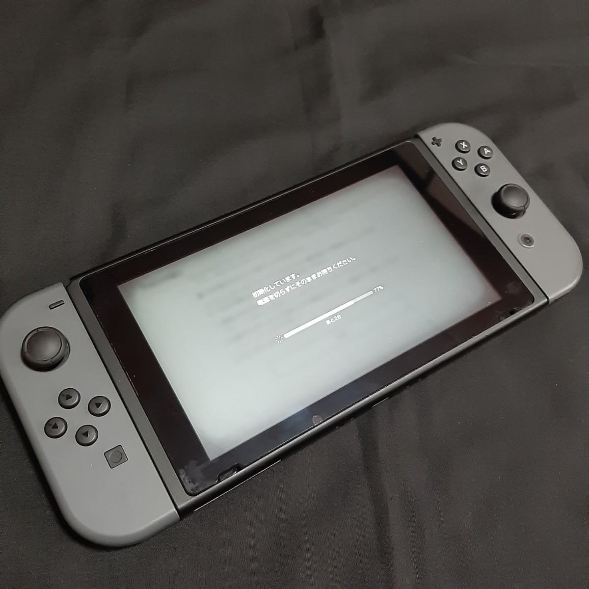任天堂スイッチ Switch ニンテンドー グレー 旧型 本体