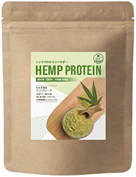 LikeyHEMP ヘンププロテイン ヘンプ パウダー 500g カナダ産 無添加 無農薬 食物繊維 自然栽培 麻の実 (1)_画像1