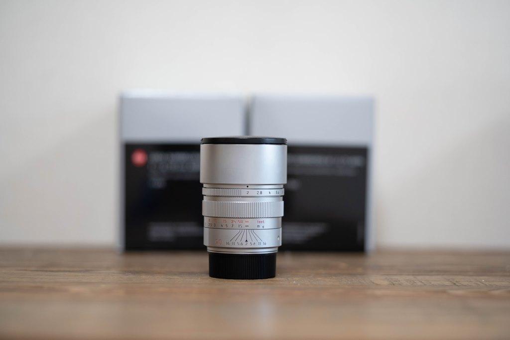 Leica ライカ ズミクロン M F2/90mm 11137 SUMMICRON-M シルバー ライカMマウント ( 90mm F2 )