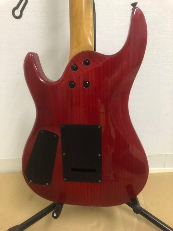 N405-K22-1284 Aria Pro アリア プロ Ⅱ MAGNA シリーズ ストラトキャスター タイプ エレキギター ②_画像6