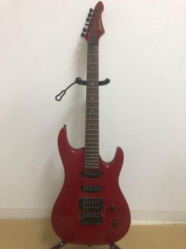 N405-K22-1284 Aria Pro アリア プロ Ⅱ MAGNA シリーズ ストラトキャスター タイプ エレキギター ②_画像1
