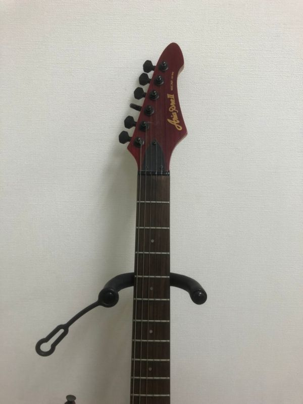 N405-K22-1284 Aria Pro アリア プロ Ⅱ MAGNA シリーズ ストラトキャスター タイプ エレキギター ②_画像3