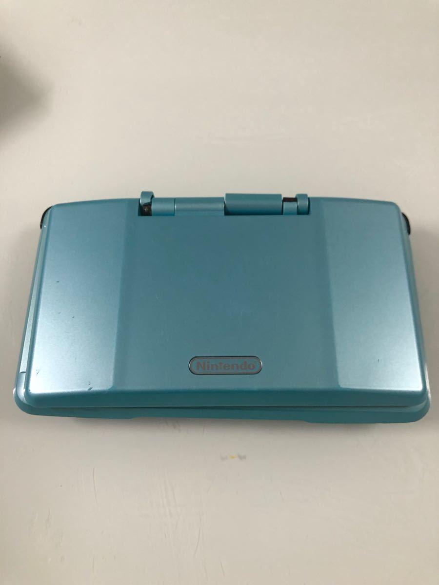 任天堂 ニンテンドーDS ターコイズブルー 本体 初期型 Nintendo