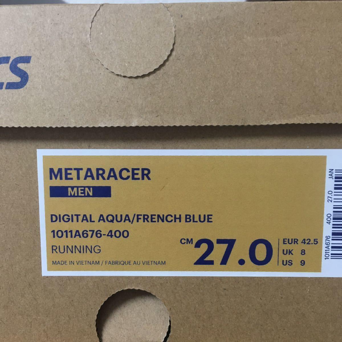 27.0cm メタレーサー アシックス METARACER asics マラソン ランニングシューズ 陸上部長距離