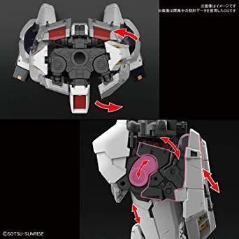 RG 機動戦士ガンダム 逆襲のシャア νガンダム 1/144スケール 色分け済みプラモデル_画像7