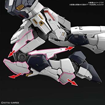 RG 機動戦士ガンダム 逆襲のシャア νガンダム 1/144スケール 色分け済みプラモデル_画像8