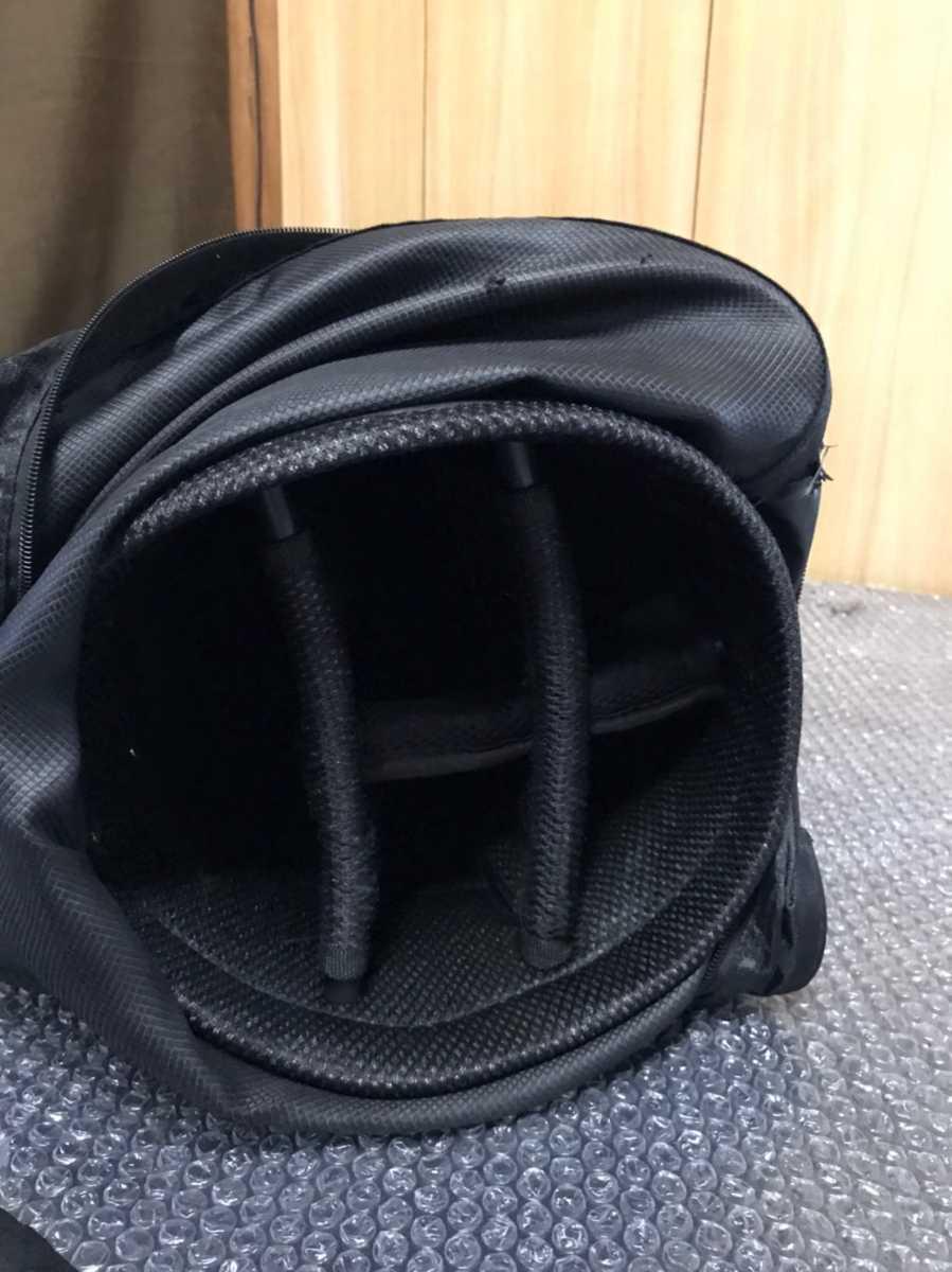 onred ブラック キャディバッグ ゴルフバック 【rs-13】_画像7