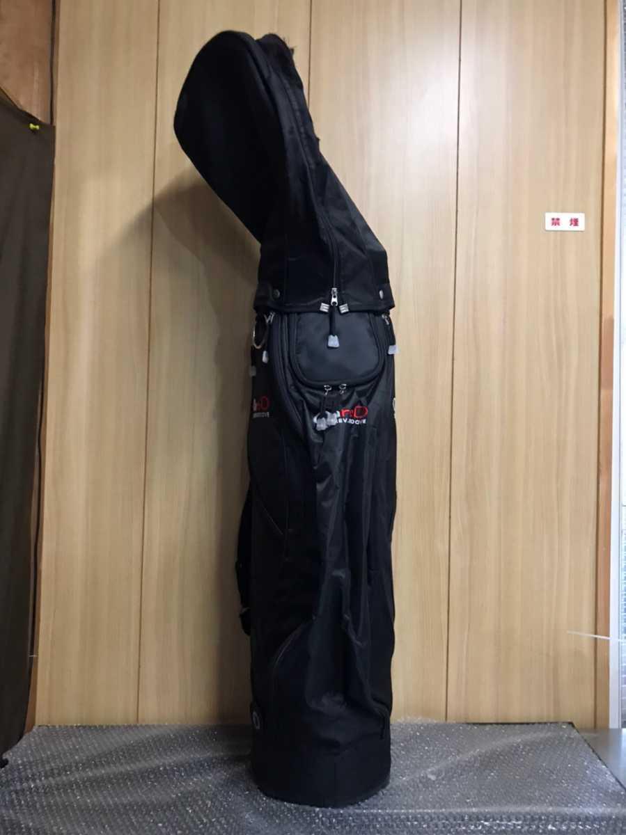 onred ブラック キャディバッグ ゴルフバック 【rs-13】_画像6