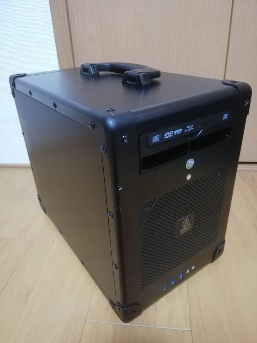 LIAN LI おかもち 取手付きケース PC-TU200 min-itx ケース