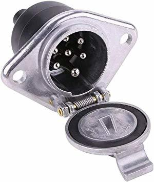 03 JSTwig 7極 トレーラー 7ピン 電極配線 接合カプラー コネクター ヒッチ ソケット セット トレーラープラグ 車_画像4