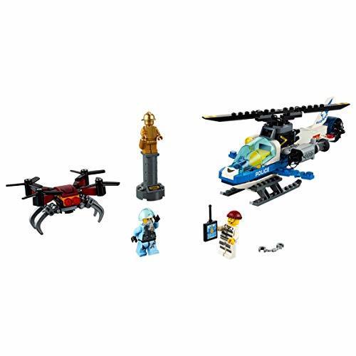 ★新品★レゴ(LEGO) シティ ポリスヘリコプターのドローンチェイス 60207 ブロック おもちゃ 男の子 車_画像4