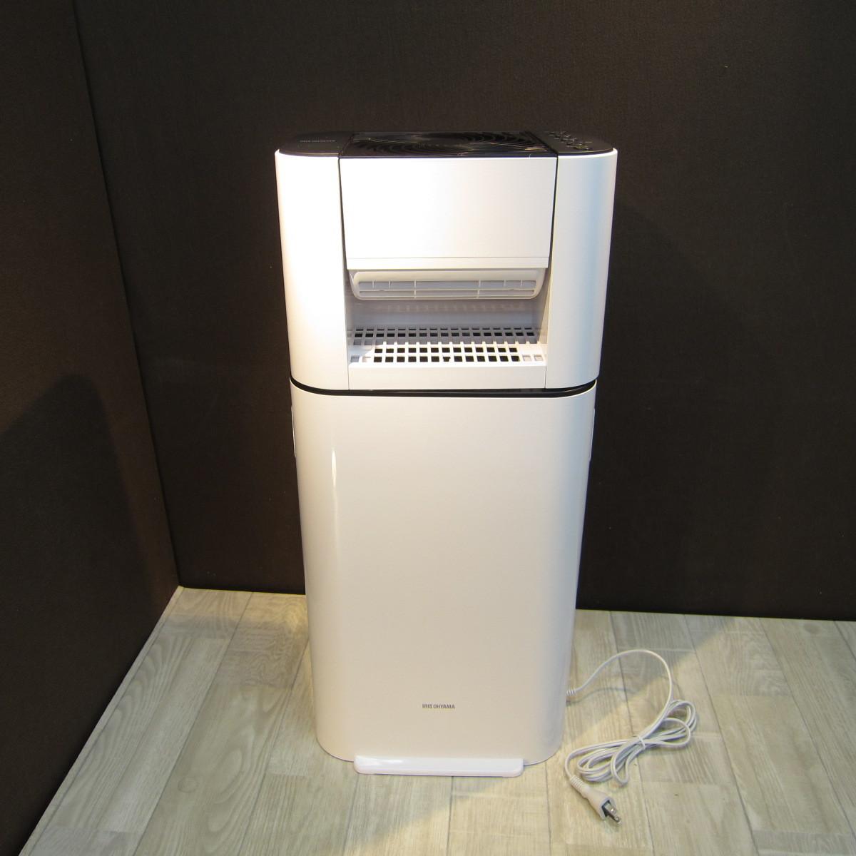 S6081【未使用】アイリスオーヤマ 衣類乾燥除湿機 スピード乾燥 サーキュレーター機能付 デシカント式 ホワイト IJD-I50_画像2