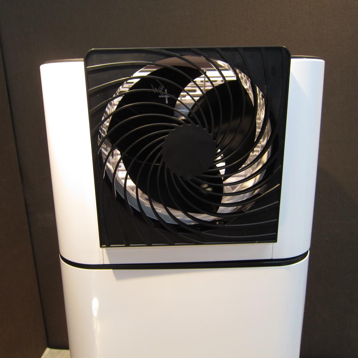 S6081【未使用】アイリスオーヤマ 衣類乾燥除湿機 スピード乾燥 サーキュレーター機能付 デシカント式 ホワイト IJD-I50_画像6