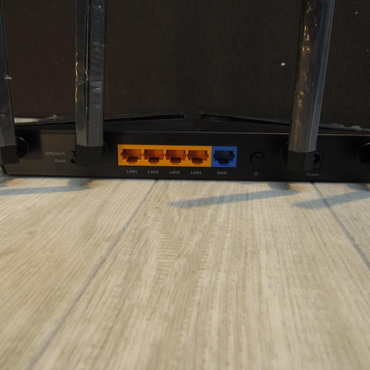 B6104【美品】TP-Link WiFi ルーター 無線LAN Wi-Fi6 11AX AX1500 1201 + 300Mbps 1.5 GHz トリプルコアCPU Archer AX10/A