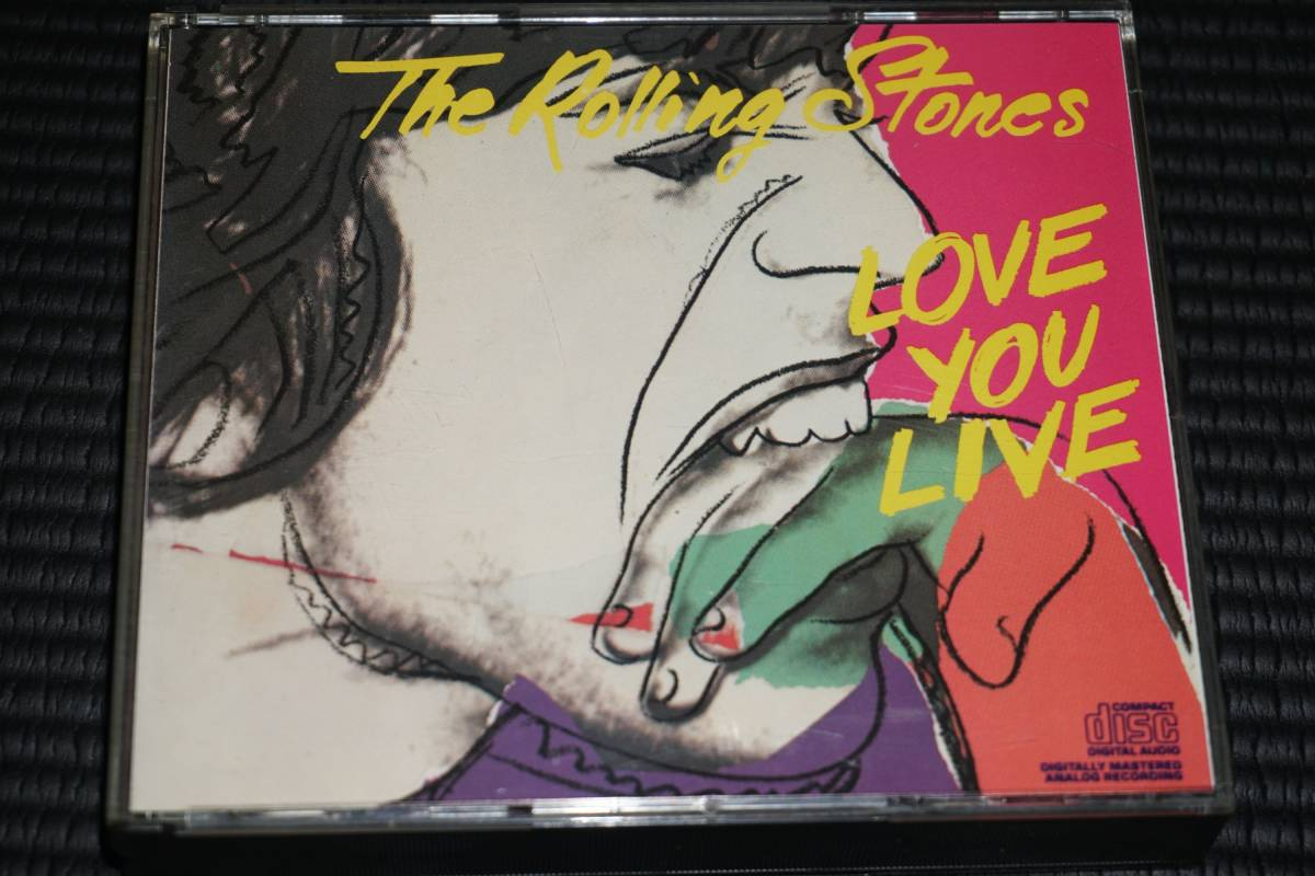 ◆The Rolling Stones◆ ローリング・ストーンズ Love You Live ラヴ・ユー・ライヴ 2枚組 CD 輸入盤