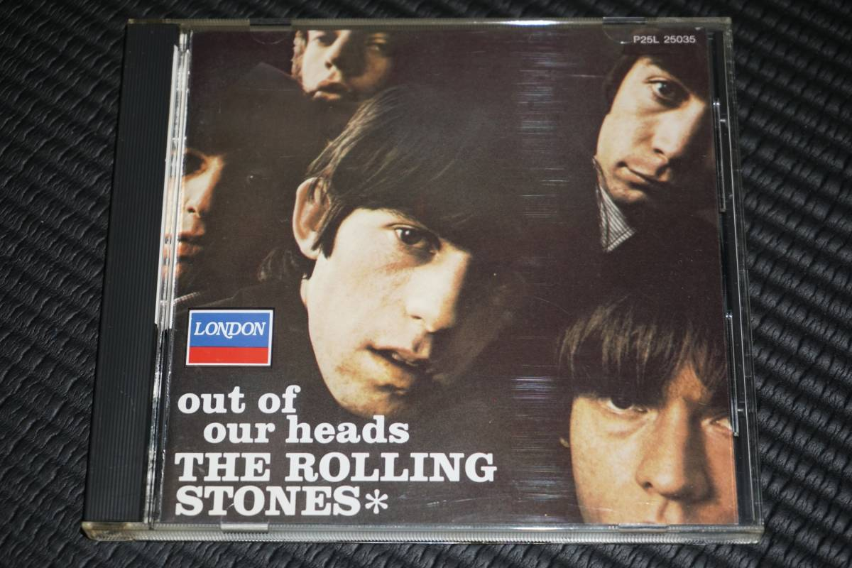 ◆The Rolling Stones◆ ローリング・ストーンズ Out of Our Heads アウト・オブ・アワ・ヘッズ CD 国内盤 帯有り
