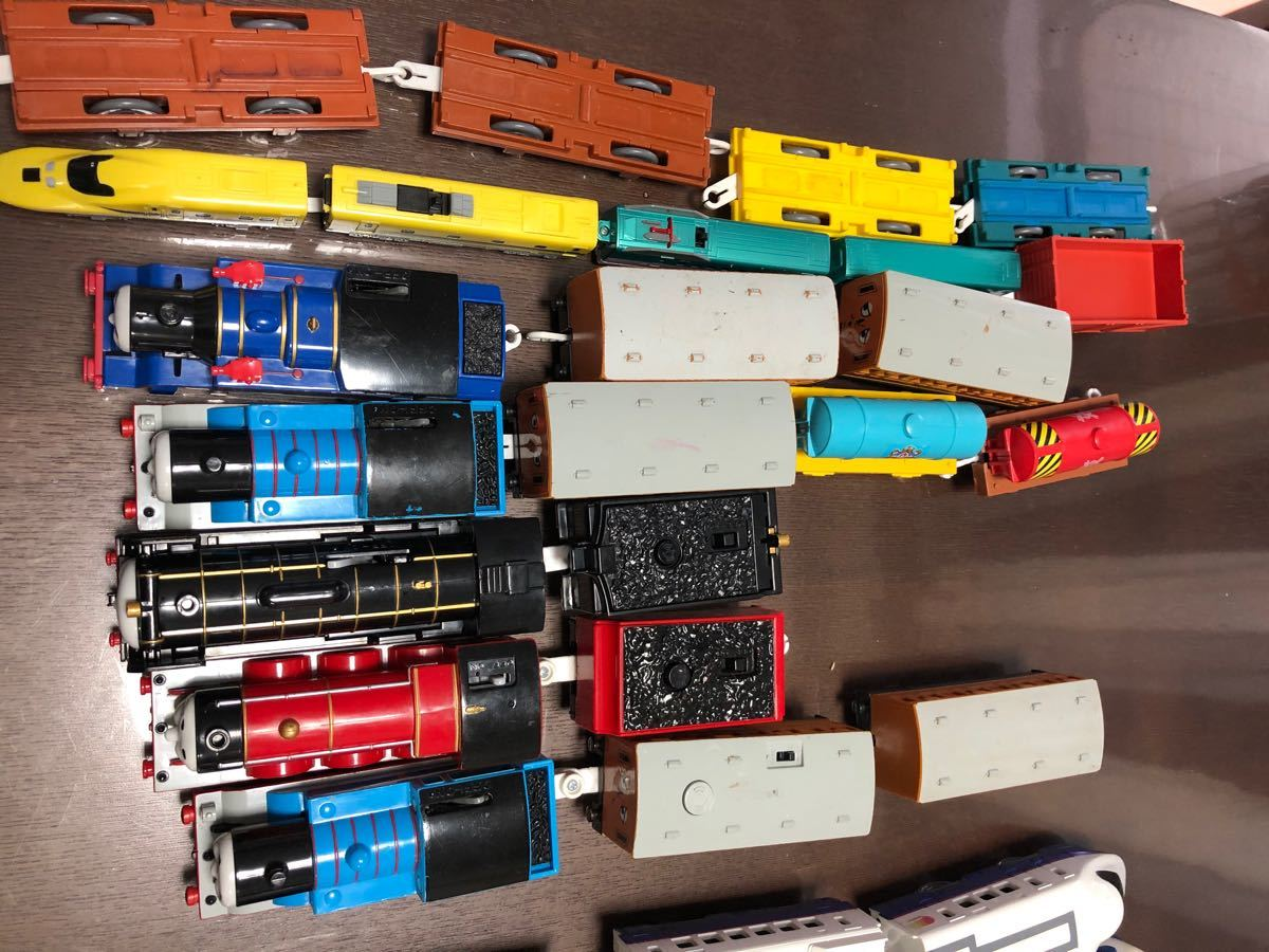 プラレール複線レールなど セットまとめ売り シンカリオン付き プラレール 大量セット TOMY トーマス プラレールトーマス