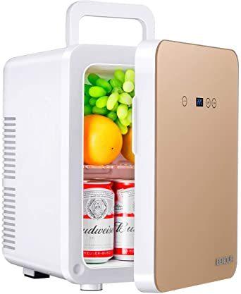 EENOUR 冷温庫 10L ポータブル 小型 冷蔵庫 保温・保冷用 -2℃~60℃ 温度調節可 ワンタッチ操作 LCD温度表示_画像1
