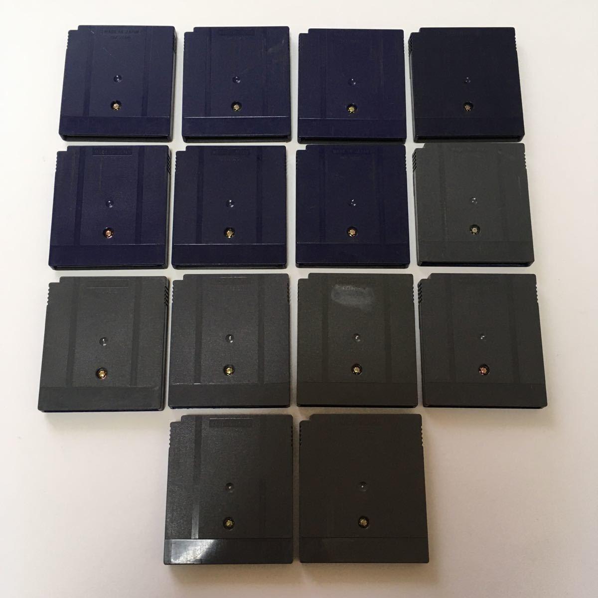 ゲームボーイカラー ソフト ポケットモンスター 金銀 動作確認済み 金銀それぞれ7つセット ポケモン カセット 任天堂 レトロ