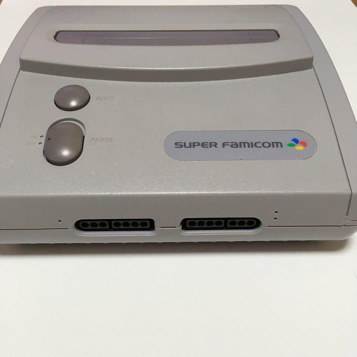 スーパーファミコンジュニア スーパーファミコンJr 任天堂 本体のみ 動作確認済み レトロ ゲーム 希少 プレミア スーファミ