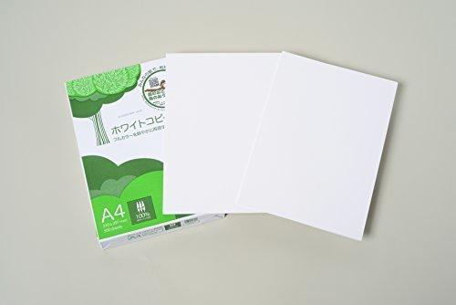 色白(ホワイト) サイズA4 コピー用紙 A4 ホワイトコピー用紙 高白色 紙厚0.09mm 2500枚(5005)_画像5