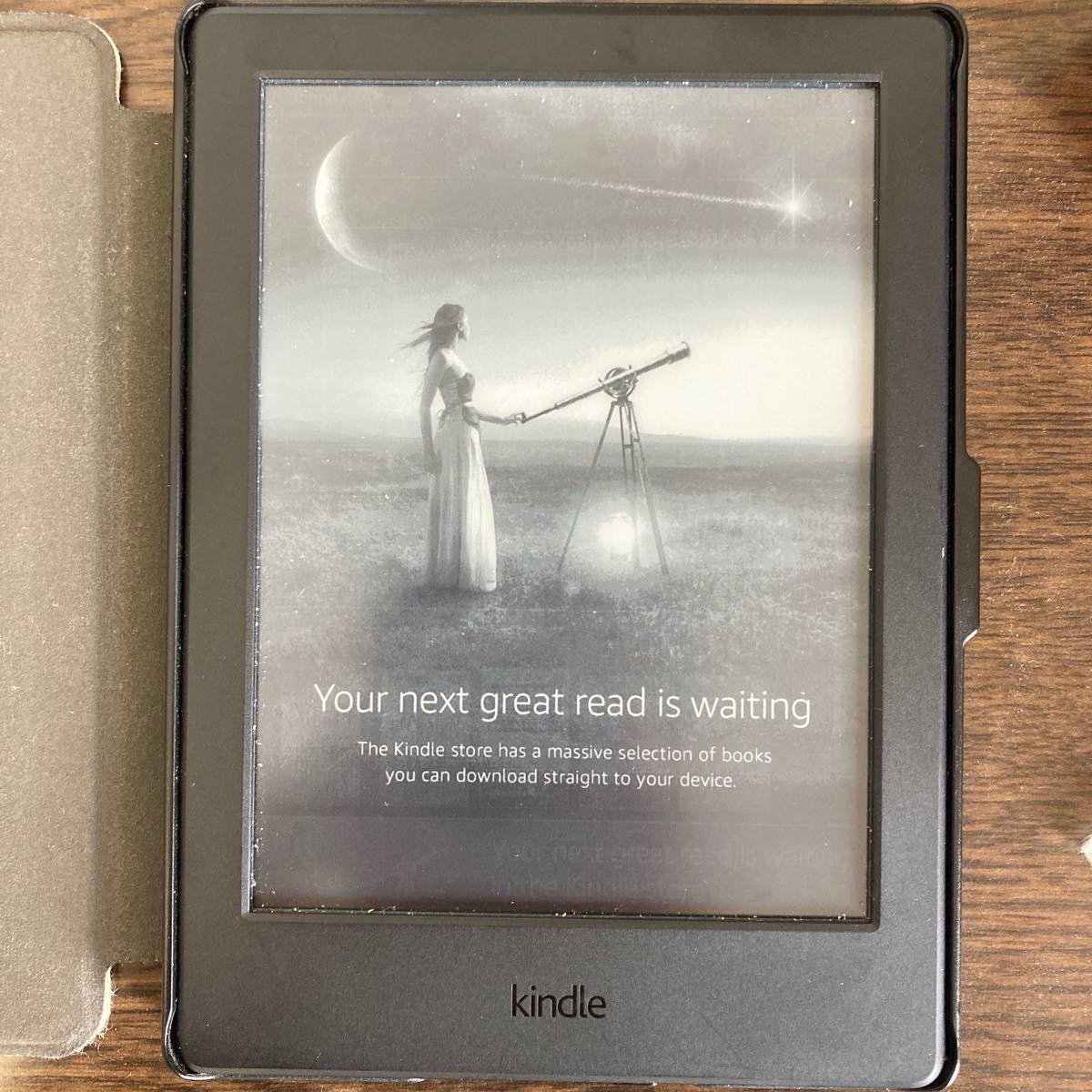 Kindle第8世代 電子書籍リーダー Wi-Fi 4GB ブラック 広告つき