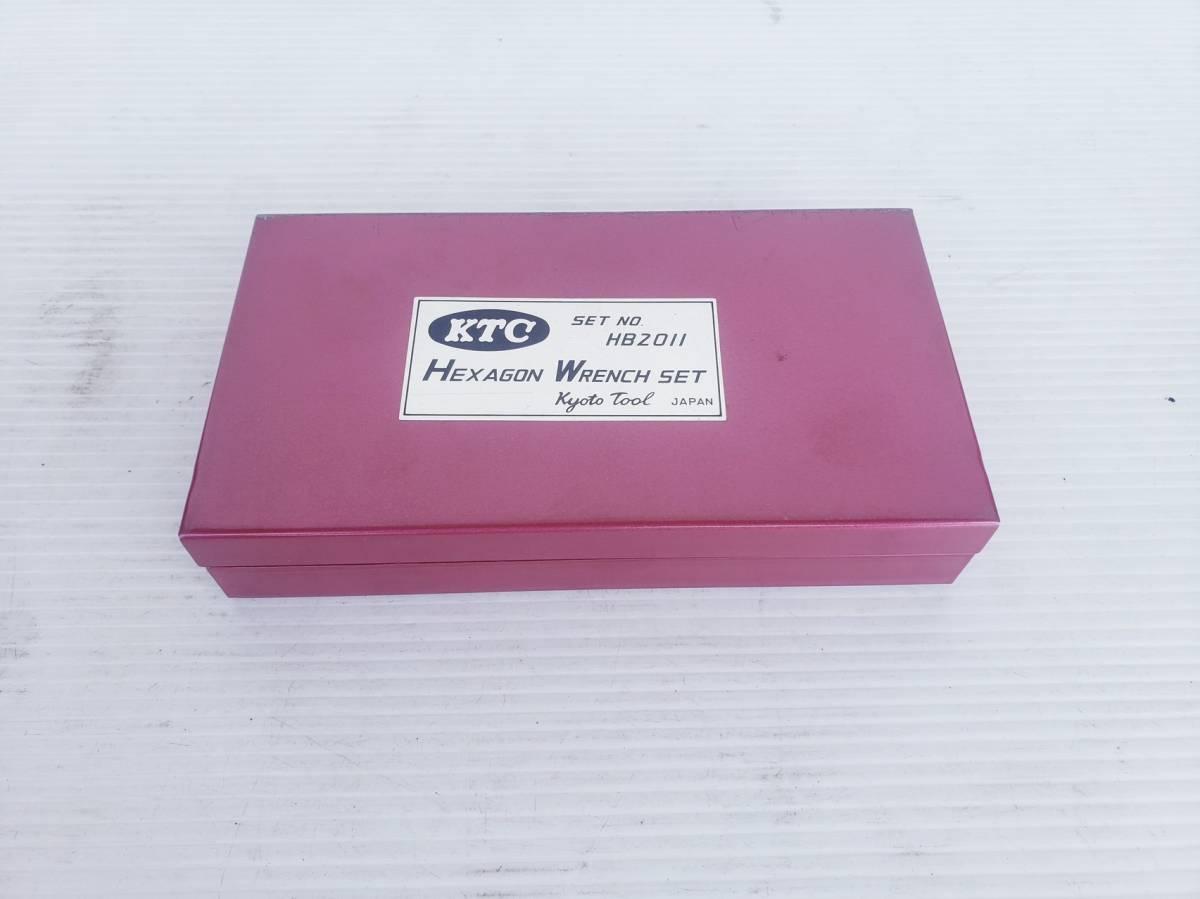 ☆中古 ヘキサゴンレンチセット KTC HB2011 差込角9.5mm 自動車整備☆_画像4
