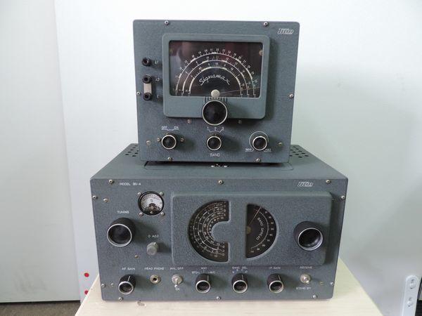 TRIO トリオ 9R-4 通信型受信機・プリセレクター シグナマックス SM-1 セット売り  詳細不明 ジャンク品_画像1