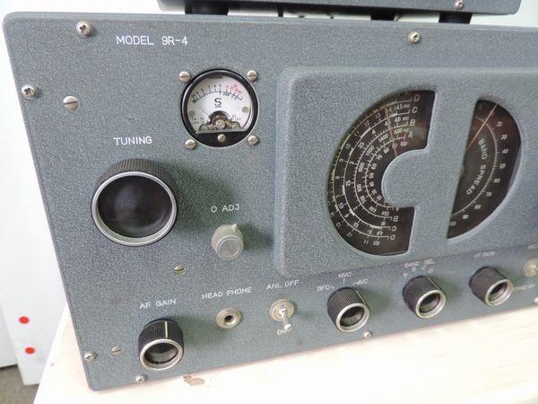TRIO トリオ 9R-4 通信型受信機・プリセレクター シグナマックス SM-1 セット売り  詳細不明 ジャンク品_画像3